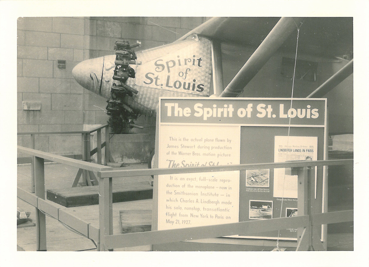 Chicago, 435 North Michigan Avenue, Tribune Tower, Spirit of Saint Louis - 212