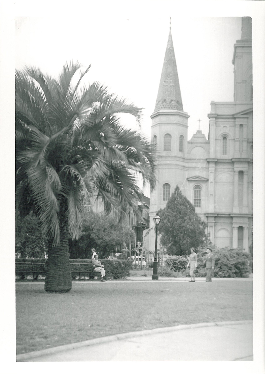 New Orleans, St. Louis Cathedral, 615 Pere Antoine Alley - 013