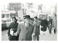 New York, Broadway, Jack Dempsey's, Streik - 064