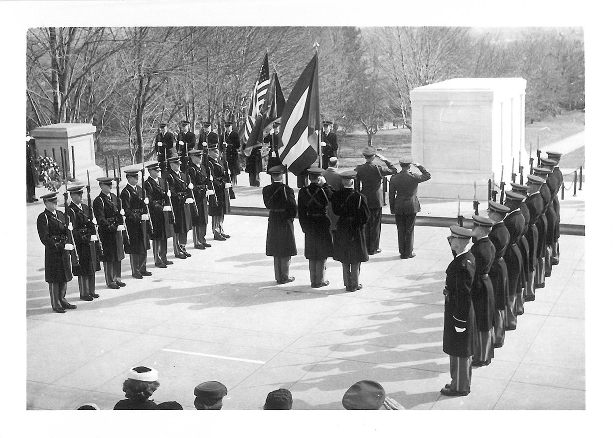 Washington, Arlington, Grabmal des unbekannten Soldaten - 054