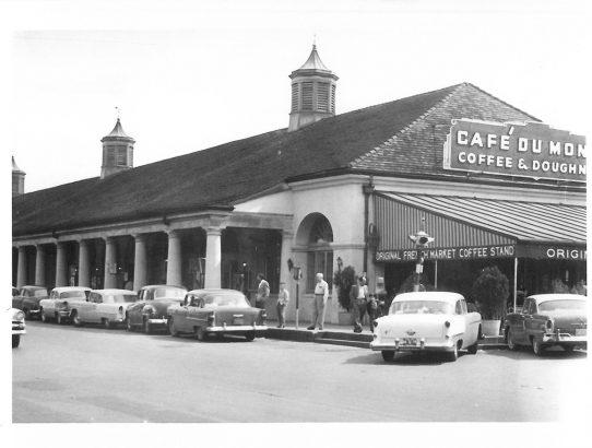 Rückklick X - Café du Monde in New Orleans