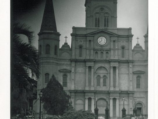 Rückklick XII - St. Louis Cathedral in New Orleans