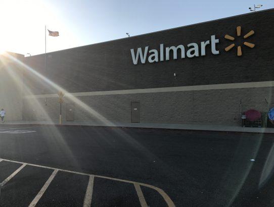 Das erste Mal... Walmart!